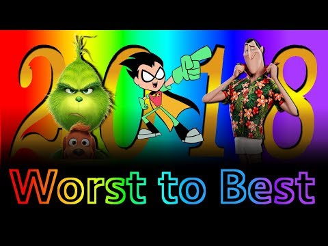 Worst To Best: Animated Films Of 2018 (Part 1)