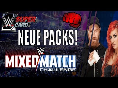 Neue Mixed Match Challenge Packs + TBG PACK | WWE SuperCard