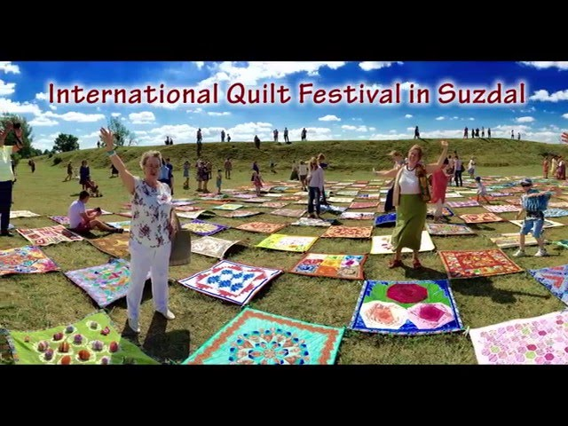 International Quilt festival in Suzdal 2015