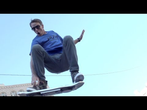 Tony - Today, Tony Hawk and Doc Brown present the real-life hoverboard from