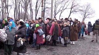 Debaltseve'de insani yardımlar için geçici ateşkes ilan edildi