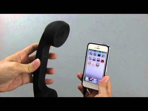handset - Native Union Pop Retro Phone Handset for iPhone iPad or Smartphones. Pricing & availability - http://amzn.to/WfHcO1 If you like ironic products, this is defi...