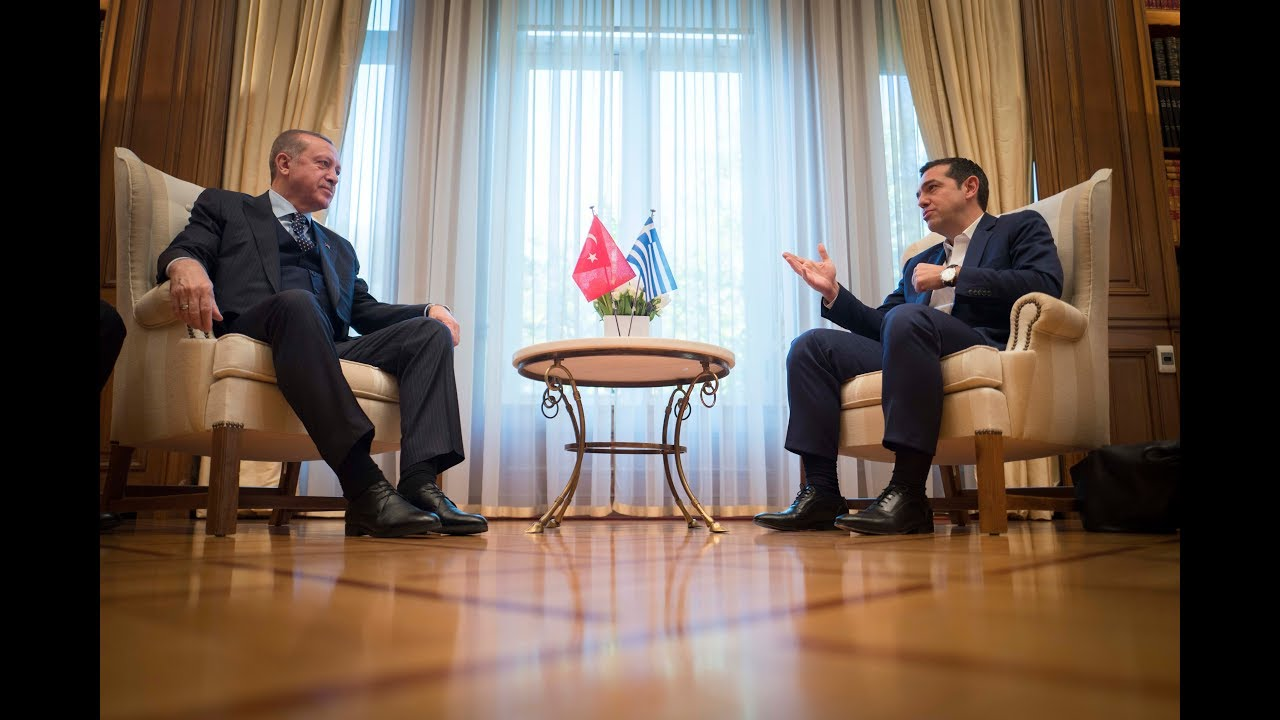 Συνάντηση με τον Πρόεδρο της Δημοκρατίας της Τουρκίας κ. Ρετζέπ Ταγίπ Ερντογάν