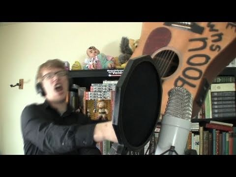 Nerd fighter song featuring HANK GREEN