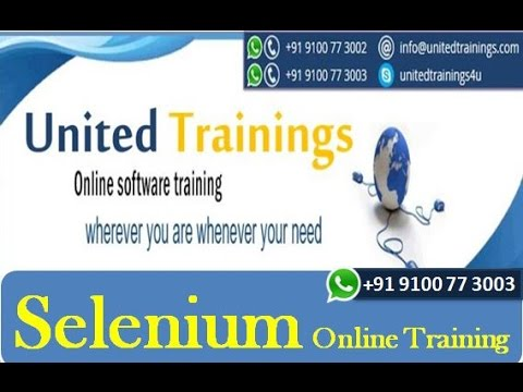 Selenium Training tutorial