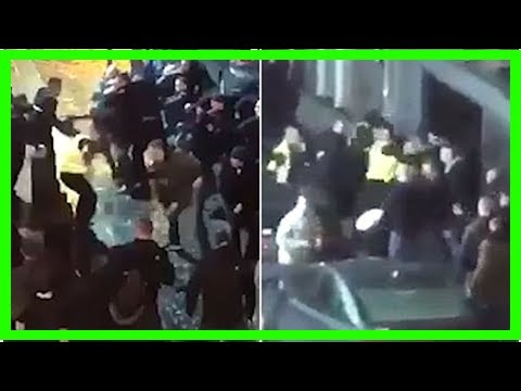 Terrifying Brawl Erupts In Liverpool City Centre