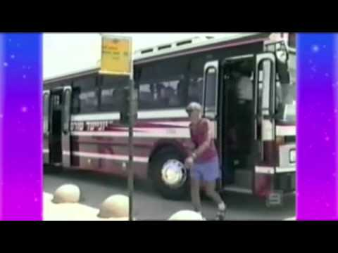 Funny old people accidents