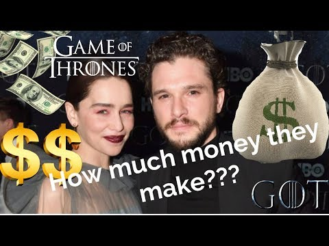 How much money the 'Game of Thrones' stars are making for Season 08 | NEW 2019