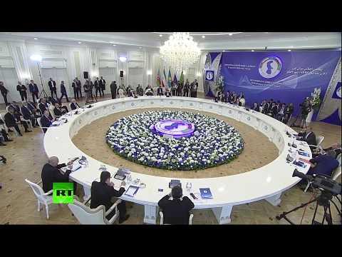 Заседание глав государств — участников V Каспийского саммита - DomaVideo.Ru