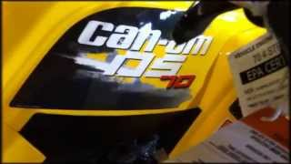 4. 2013 Can Am DS 70
