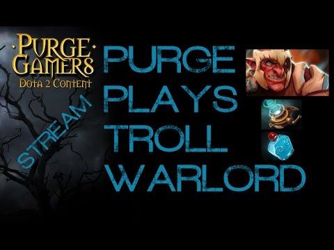 Dota 2 Purge plays Troll mid