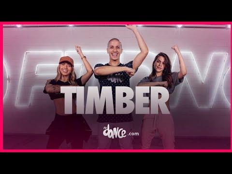 Timber - Pitbull ft. Ke$ha | FitDance TV (Coreografia Oficial) Dance Video