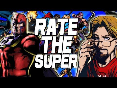 RATE THE SUPER: Ultimate Marvel Vs. Capcom 3 (видео)