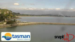 Tarakohe Webcam Tuesday 12th April 2011