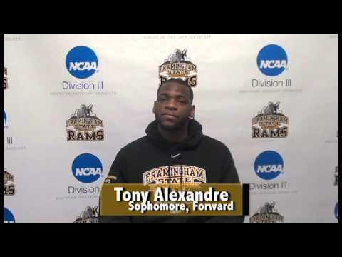 FSU Athlete of the Week 1/31/16- Tony Alexandre