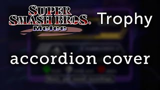 Accordion cover – Trophy from Super Smash Bros. Melee