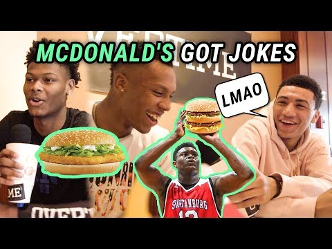 McDonald's All Americans Get UNCOMFORTABLE! Zion, JQ & More Ask Each Other The TUFFF QUESTIONS 😂