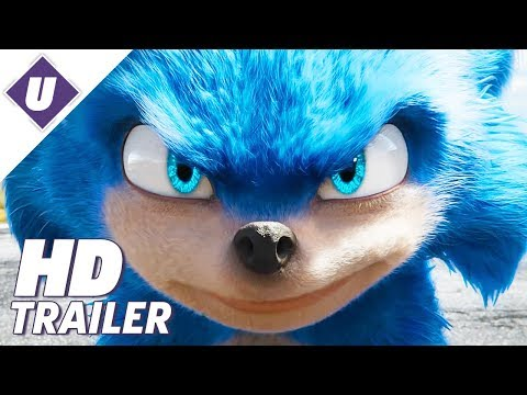 Sonic The Hedgehog (2019) - Official Movie Trailer | Jim Carrey, Ben Schwarts, James Marsden