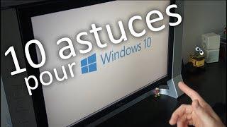 Video 10 astuces pour Windows 10 ! MP3, 3GP, MP4, WEBM, AVI, FLV Maret 2019