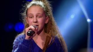 Video Nina - 'What's The Pressure' | Blind Auditions | The Voice Kids | VTM MP3, 3GP, MP4, WEBM, AVI, FLV Juni 2019