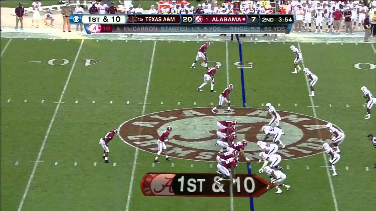 Damontre Moore vs Alabama (2012)