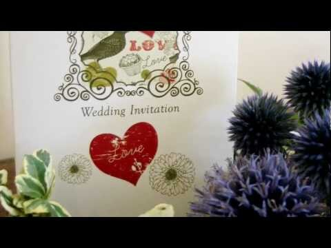 Vintage and Retro Wedding Invitations from Millbank and Kent