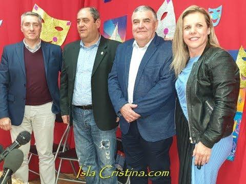 Presentado el Pregonero de Carnaval de Isla Cristina 2019 D. José Manuel Escobar Martin.