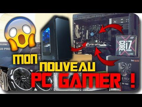 J'AI EXPLOSÉ MON ANCIEN PC !! EXPLICATION + JE MONTE MON NOUVEAU PC GAMER !! | FR (HD 1080P60)