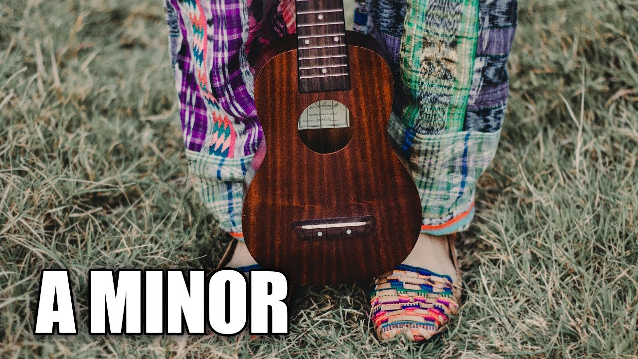 Acoustic Ballad Guitar Backing Track In A Minor | Goodbye