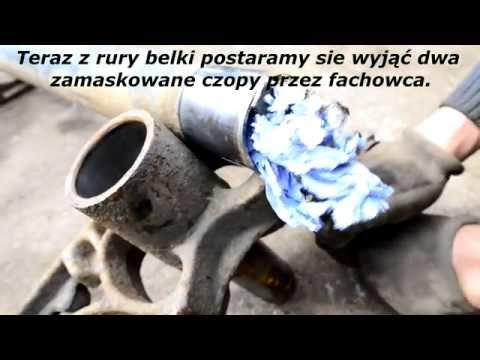 Naprawa tylnej belki - Polska