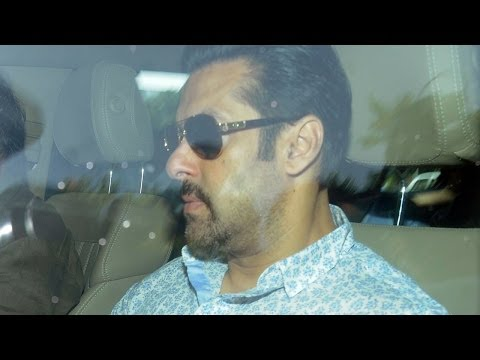 Salman Khan's Outing At Session Court