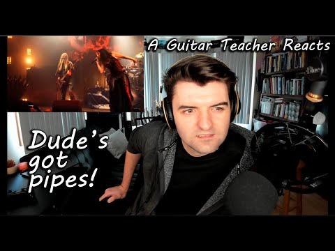 Guitar Teacher Reacts to Wish I Had An Angel by Nightwish, Live at Wacken