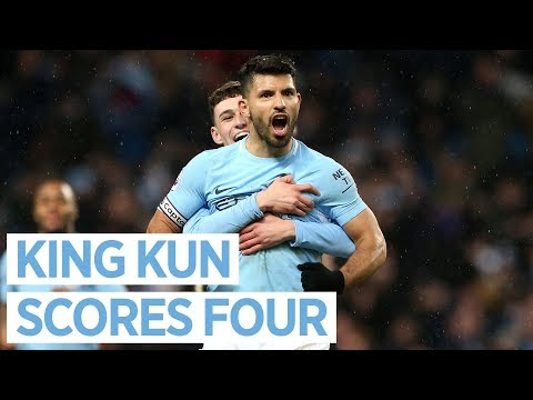 Video: ANOTHER AGUERO HAT-TRICK | CITY 5-1 LEICESTER | Premier League 2018/18