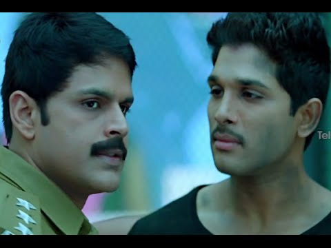 Race Gurram Movie Scenes - Shaam supports & hails Allu Arjun - Shruti Hassan