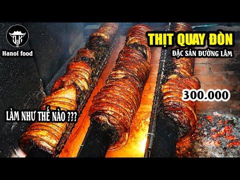 Thịt quay đòn | Tan chảy ngập miệng với ẩm thực đặc biệt làng cổ Đường Lâm