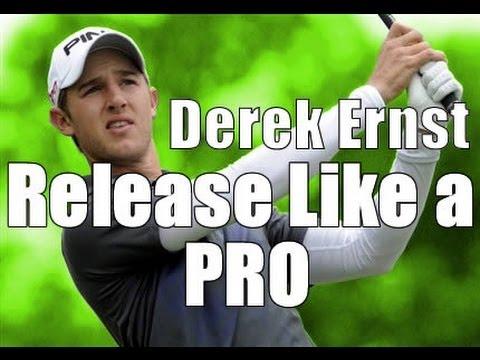 Golf Swing Analysis – Derek Ernst: How to Release Like a Pro