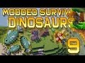 Minecraft: Modded Dinosaur Survival Let's Play w/Mitch! Ep. 9 - FISH FARMERS!