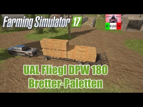 UAL Fliegl DPW 180 / boards Palette v1.0