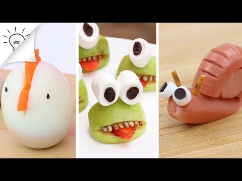 42 Creative Food Art Ideas