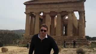 Agrigento Italy  City new picture : Valle dei Templi near Agrigento, Sicily, Italy - Walks Traveler