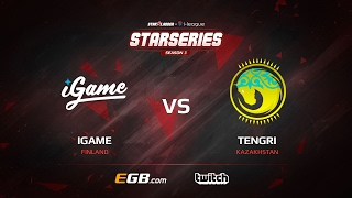 iGame vs Tengri, map 2 cobblestone, SL i-League StarSeries Season 3 Europe Qualifier