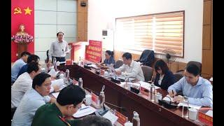 Hội nghị BTV Thành ủy