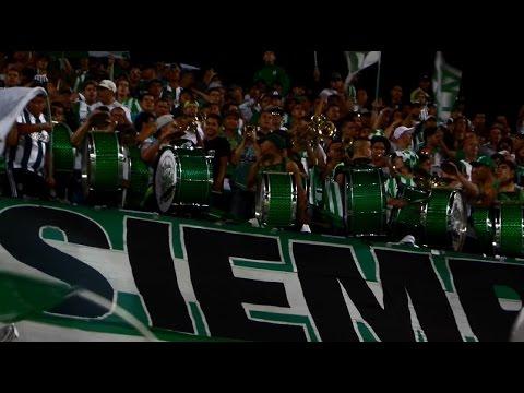 Nacional 1 vs Once Caldas 2  -  La Banda Los Del Sur - Los del Sur - Atlético Nacional