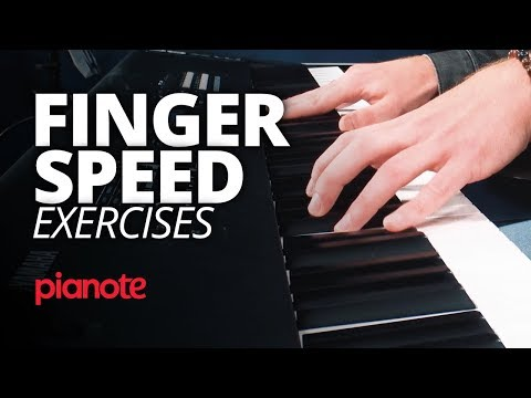 Piano Finger Speed Exercises