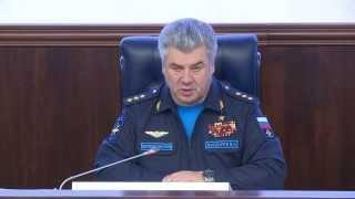 Пресс-конференция Главкома ВКС РФ Бондарева В.Н. по факту атаки на российский Су-24М
