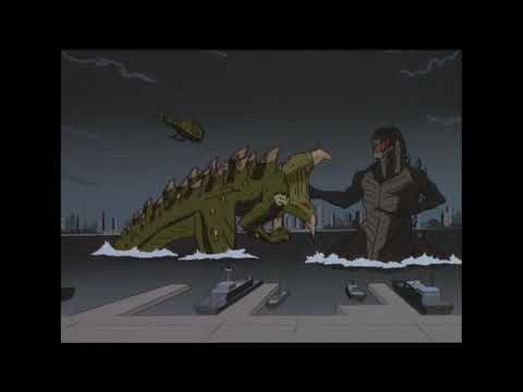 "Godzilla: The Series music video - ""Godzilla"" Bear McCreary feat. Serj Tankian"