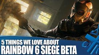 Rainbow 6: Siege gameplay: 5 Things You'll Love
