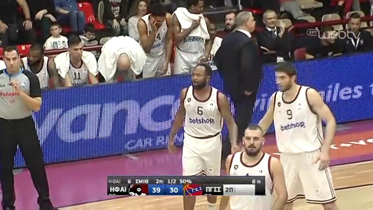 Basket League 2019-2020: ΗΦΑΙΣΤΟΣ ΛΗΜΝΟΥ – ΠΑΝΙΩΝΙΟΣ | HIGHLIGHTS | 11/01/2020 | ΕΡΤ