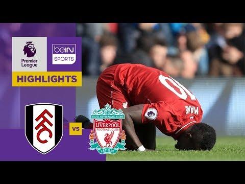 Fulham 1-2 Liverpool Match Highlights