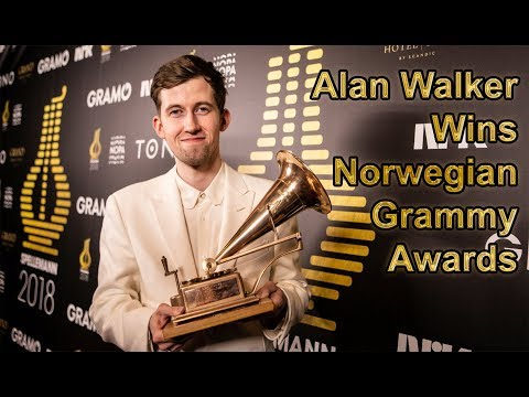 Alan Walker wins 2018 Norwegian Grammy Awards (with multi language subtitles)